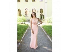 Společenské Šaty ANGELINA růžové