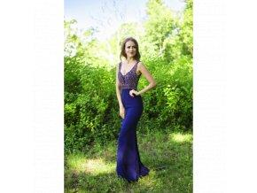 Společenské Šaty ANGELINA tmavě modré