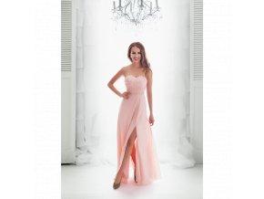 Společenské Šaty ESTELLA růžové