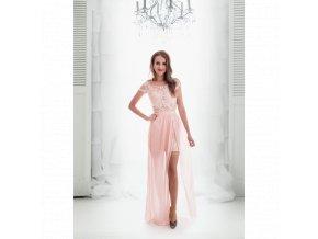 Společenské Šaty AMELIE růžové
