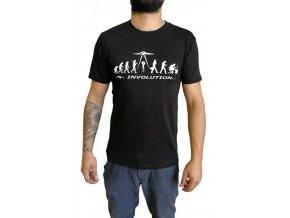Pánské tričko INVOLUTION černé