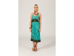 Letní šaty BATIKA zelené