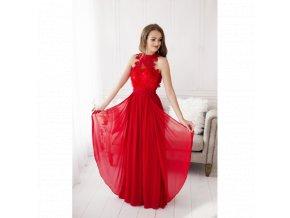 Společenské šaty OLYA červené