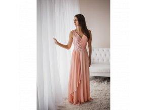 Společenské šaty SELINA růžové