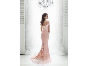 Společenské Šaty CALY růžové