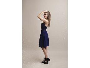 Společenské Šaty FABIA tmavě modré