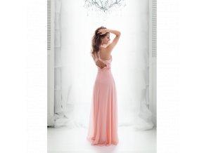 Plesové Šaty MAEVA růžové