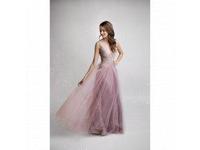 Plesové Šaty GRETA růžové