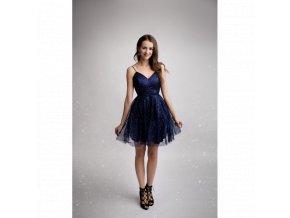 ae39c376be7 Společenské Šaty ZOE tmavě modré