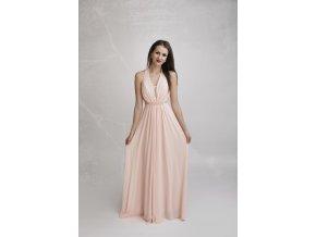 Společenské Šaty ELORA růžové