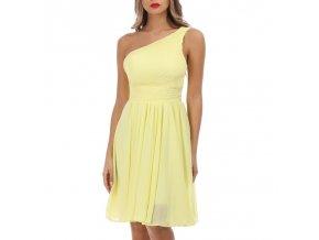 Společenské Šaty KATIA žluté