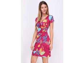 šaty na léto růžové