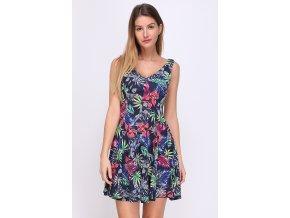 Letní šaty Sibel TROPICAL barevné