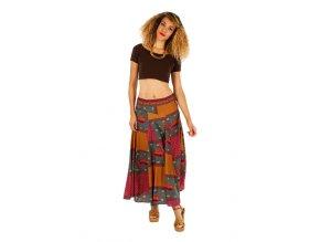 Dlouhá sukně  DINA barevná