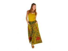 Dlouhá sukně TINA zelená