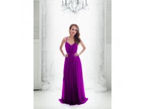 Společenské plesové Šaty GABRIELLE fialové