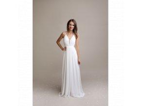 Společenské šaty NINA bílé