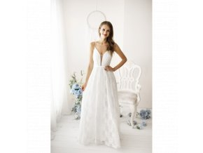 Svatební šaty CHRISSIE krémové