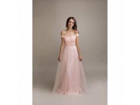 Šaty pro družičky AGATHE růžové