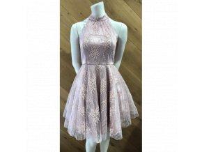 Koktejlové Šaty GLADYS růžové
