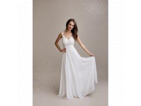 Svatební šaty ANGELA bílé
