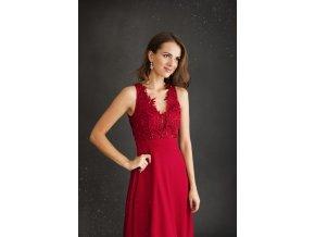 Plesové šaty TINA červené