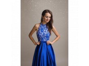 Společenské Šaty CALISTA modré