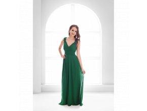 Plesové Šaty CHERYL tmavě zelené
