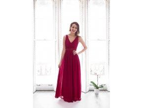 Plesové Šaty MELODIE červené