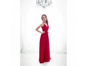 Plesové šaty NINA červené