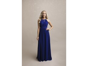 Družičkovské šaty modré