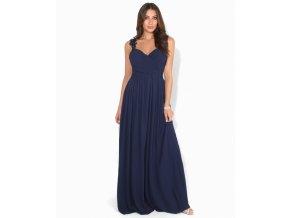 Společenské Šaty CHERYL tmavě modrá