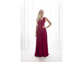 Společenské šaty  pro družičky NYNA červené