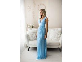 Společenské šaty MARGOT světle modré