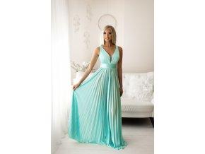 Společenské šaty SELENE modré