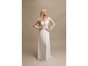 Svatební šaty CELINE bílé