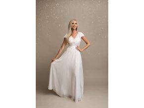 Svatební šaty OCEANE bílé