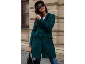 Dámský Kabát ZORA zelený