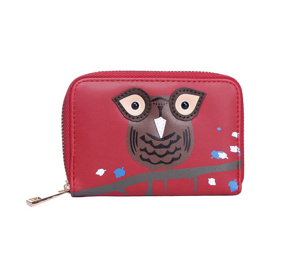 Dámská peněženka SOVA RED SMALL Barva: Červená, Velikost: Univerzální