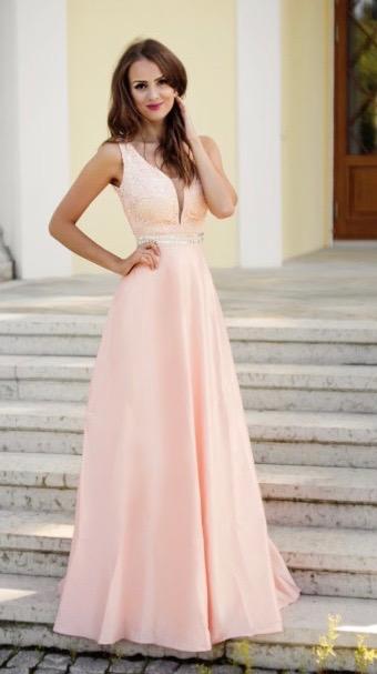 Společenské Šaty ROSIE PINK Barva: Růžová, Velikost: S