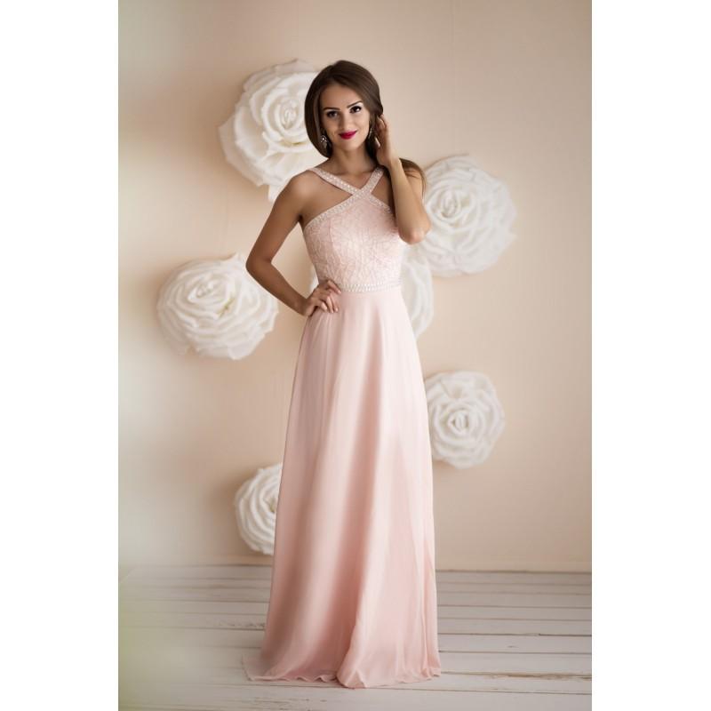 Plesové Šaty ERIKA PINK Barva: Růžová, Velikost: S