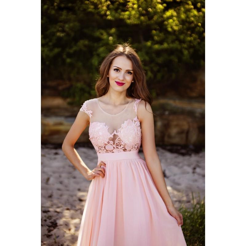 Společenské Šaty SYDENEY PINK Barva: Růžová, Velikost: S