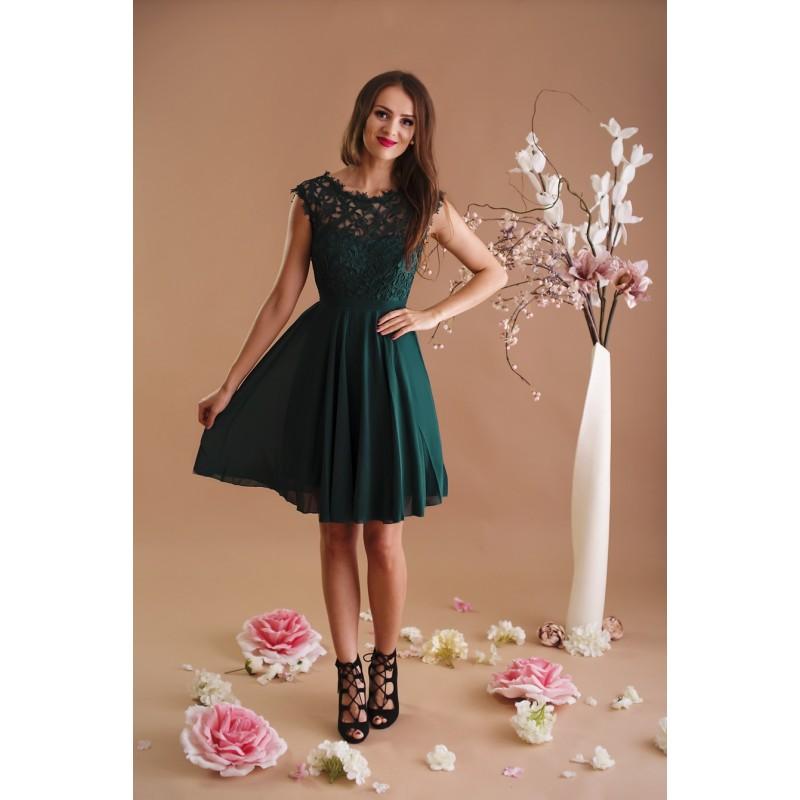 Dámské Šaty MAELYS GREEN Barva: Zelená, Velikost: S