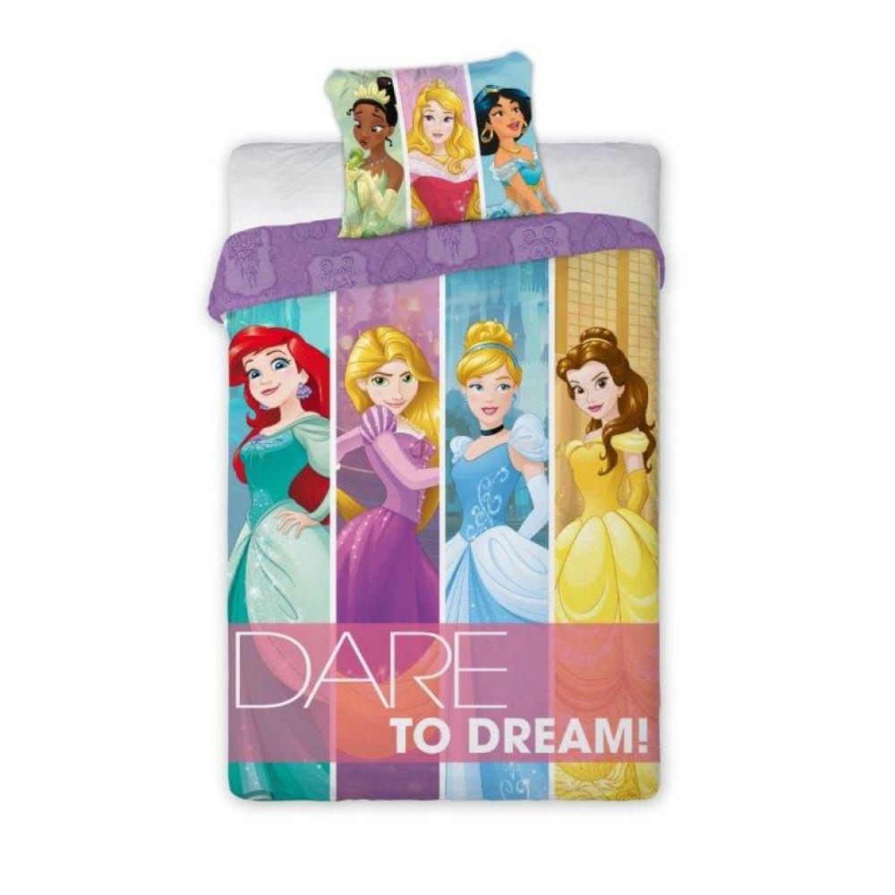 Dětské povlečení DISNEY PRINCESS DREAM 160x200 Barva: Barevná