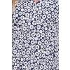 Letní šaty Sibel vzorované modré