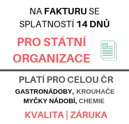 Pro státní organizace na fakturu se splatností 14 dnů