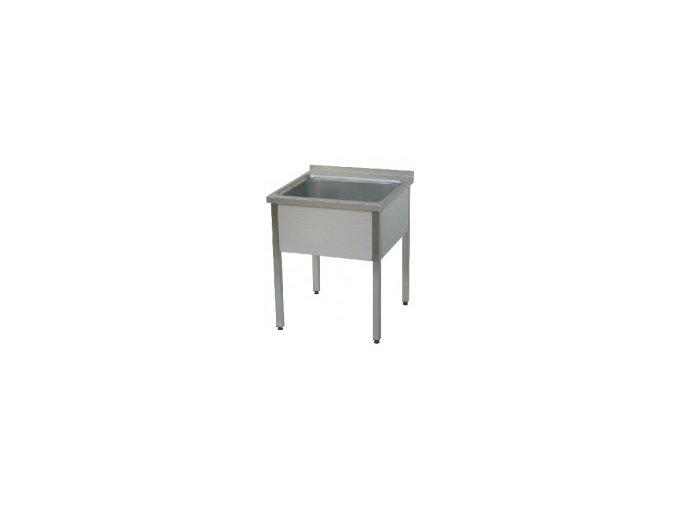 Stůl mycí jednodřez MSJ 700x700x900