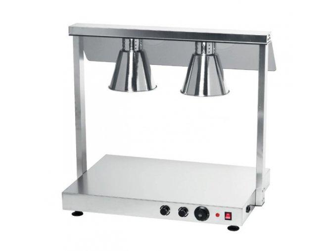 Infra lampa pro 2xGN 1/1