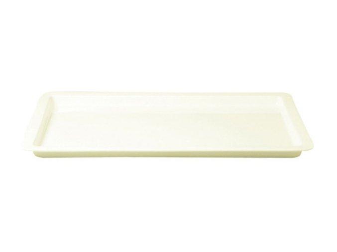 Gastronádoba porcelánová GN 1/1 - bílá