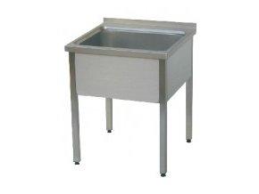 Stůl mycí jednodřez MSJ 1200x700x900